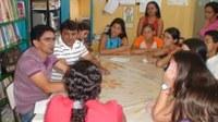 Comissão de educação visita algumas escolas.