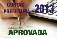 Vereadores aprovam as contas da Prefeita Ena Vilma gestão 2013.