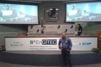 Funcionário da CMG participa do 8° EnGITEC