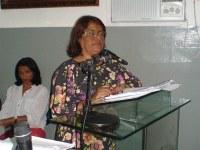 Secretária Municipal de Saúde comparece a convocação.