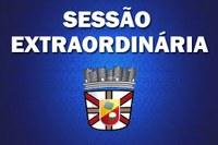 PRESIDENTE CONVOCA SESSÃO EXTRAORDINÁRIA