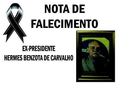 FALECEU EX-PRESIDENTE HERMES BENZOTA