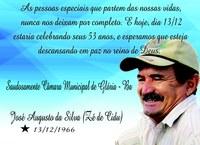 """Saudades José Augusto da Silva """"Zé de Cidu"""""""
