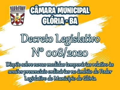 DECRETO LEGISLATIVO Nº 008/2020