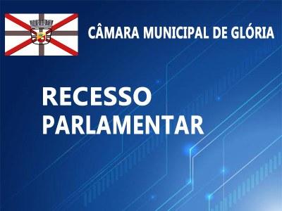 RECESSO DE JANEIRO