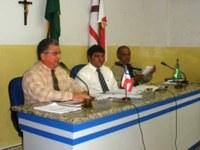 Vereadores de Glória se reúnem com comandante do 20º BPM e solicitam  providências para a segurança do Municipio de Glória.